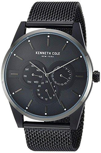 Kenneth Cole Reloj Analógico para Hombre de Cuarzo con Correa en Acero Inoxidable KC15205005