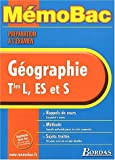 MEMO PREPA.EXAM. GEOGRAPHIE TERMINALE    (Ancienne Edition)