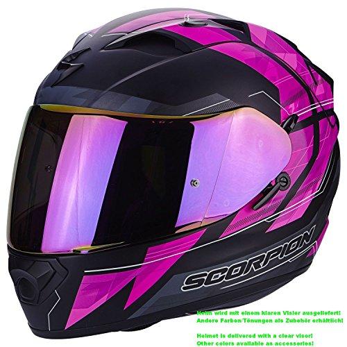 SCORPION Casque Moto EXO-1200 AIR Hornet, Matt Pink, S