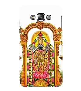 FUSON Swami Tirupati Baalaji Venkateswara 3D Hard Polycarbonate Designer Back Case Cover for Samsung Galaxy E5 (2015) :: Samsung Galaxy E5 Duos :: Samsung Galaxy E5 E500F E500H E500Hq E500M E500F/Ds E500H/Ds E500M/Ds