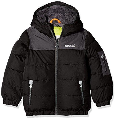 Boys Sherpa Jacket (Regatta Boys & Girls Larkhill Water Repellant Insulated Jacket)