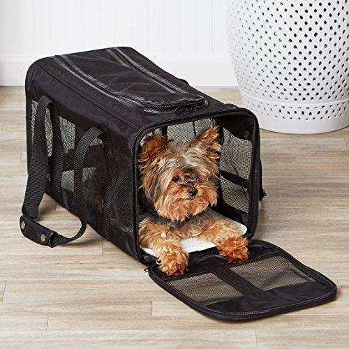 Zoom IMG-2 amazonbasics trasportino morbido per cani