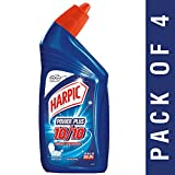 #10: Harpic Power Plus Disinfectant Toilet Cleaner, Original, 500ml (Pack of 4)