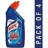 Harpic Power Plus Disinfectant Toilet Cleaner, Original, 500ml (Pack of 4)