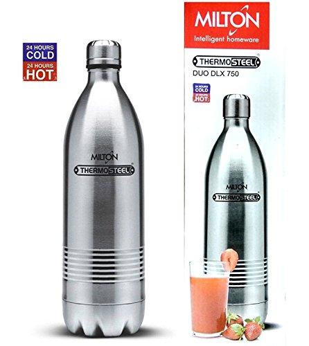 Milton Thermosteel Duo 750 Dlx – Steel Plain(EC-TMS-FIS-0018_STEELPLAINCO)