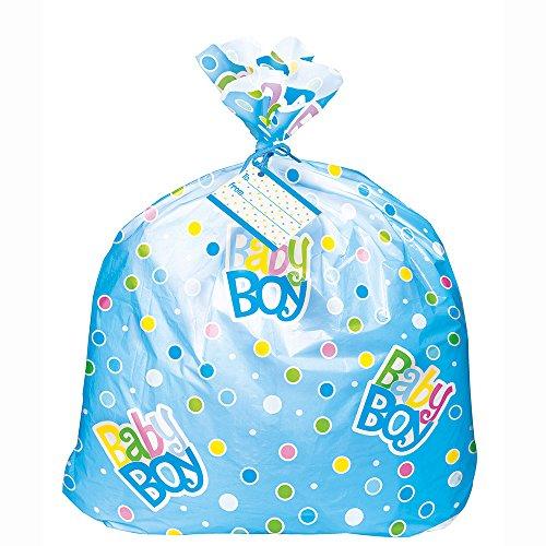 jumbo-plastic-blue-polka-dot-baby-shower-gift-bag