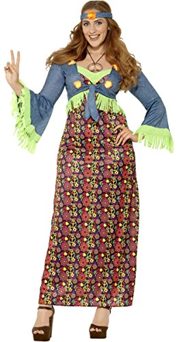 Ladies Plus Size Maxi Hippy. Size 16 to 30 with headband