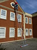 7.65m- 2 Section Extension Ladder / Ladders with Integral Stabiliser