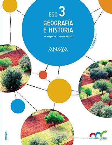 Geografía e Historia 3. (Trimestres) (Aprender es crecer en conexión) - 9788467852400 por Manuel Burgos Alonso