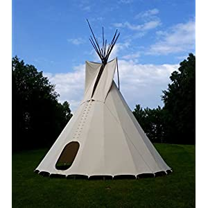 Ø 3 m 10,2 ft tipi indian tent tepee teepee wigwam larp reenactment yurt bell