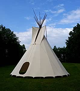 kit complet 5 m tente tipi indien style indianertipi sioux tipi yakari cuisine. Black Bedroom Furniture Sets. Home Design Ideas