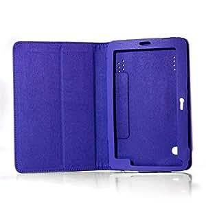 Universal PU Leder Tasche Schutz Hülle Cover Case Etui für 7´´ Tablet PC Blau