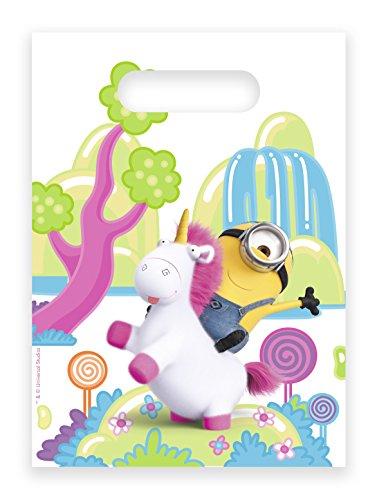 * Fluffy * für Einen Kindergeburtstag | Minions Ich Einfach unverbesserlich Einhorn Mottoparty Motto Kinder Geburtstag Rosa Mitgebsel ()