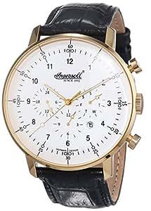ingersoll herren armbanduhr xl houston chronograph automatik leder in2816gwh uhren. Black Bedroom Furniture Sets. Home Design Ideas