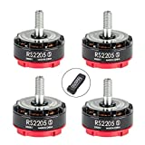 4pcs EMAX RS2205-S 2300KV Brushless Motor CW for X210 QAV250 QAV300 FPV Racing Quadcopter by Crazepony-UK