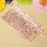 GENERIC 100PCS Organza Gift Pouch Jewelr...