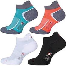 Calzini Low Cut Pro da corsa prodotti da DANISH ENDURANCE, confezione da 5, 3 o 1 paia, uomo e donna