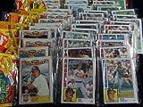 Best Baseball Card Packs - 1984 Topps Baseball Cards - RACK Pack Review