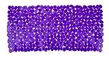 WENKO 20268100 Wanneneinlage Paradise Purple, Kunststoff, Lila