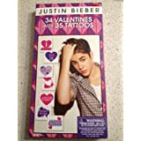 Justin Bieber 34 Valentines with 35 Tattoos by Paper Magic Group, Inc.