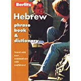 HEBREW PHRASE BOOK & DICTIONARY