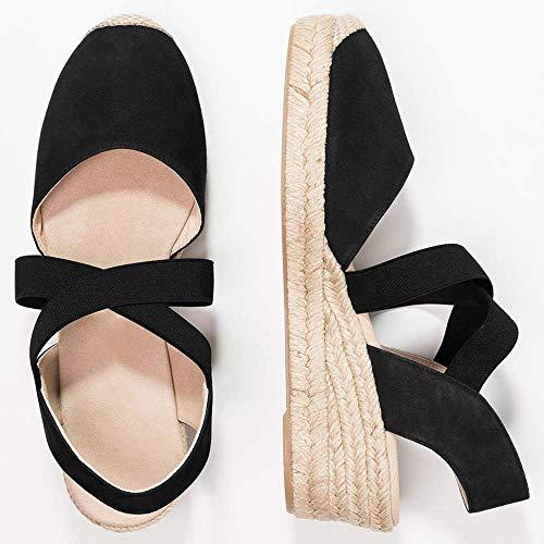 Zoom IMG-3 tomwell sandali donna moda espadrillas