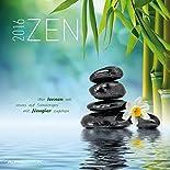 Zen 2016 - Broschürenkalender (30 x 60 geöffnet) - mit Weisheiten - Meditationskalender- Wandplaner hier kaufen