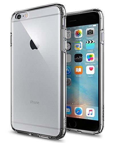 Spigen SGP11645 Ultra Hybrid Kompatibel mit iPhone 6S Plus Hülle, Einteilige Transparent Durchsichtige PC Rückschale Schutzhülle Case Space Crystal