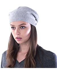 cashmere 4 U 100% reines Kaschmir Strick-Barett/-Hut für Damen
