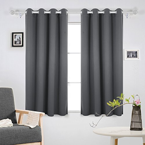 Bedroom Curtains On Amazon Small Bedroom Ideas Nyc Chalkboard Art Bedroom Bedroom Sets For Girls: Grey Bedroom Curtains: Amazon.co.uk