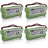 4 Pack Of VTech IS7121-2 Battery - Replacement For VTech Cordless Phone Battery (800mAh