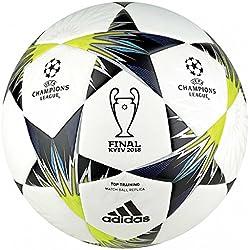 adidas Finale Kiev Tt Balón, Hombre, Blanco (Blanco/Negro/Amasol/Azul), 5