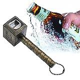 niceEshop Bier Flaschenöffner, Hammer von Thor Flaschenöffner Lustig Bier Coole Geschenk