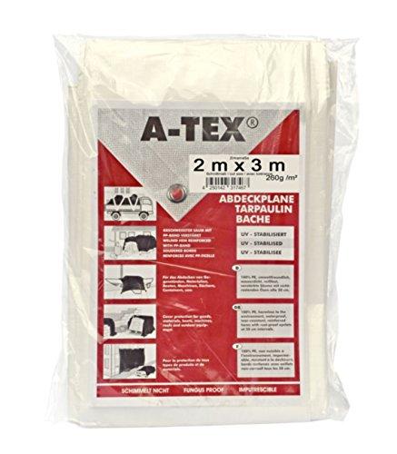 A-Tex gewebeverstärkte Abdeckplanen 260 g/m², Größe:2 x 3 m
