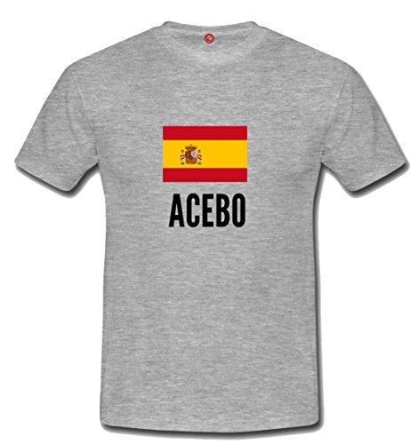 T-shirt Acebo city grigia