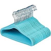 AmazonBasics Kids Velvet Hangers