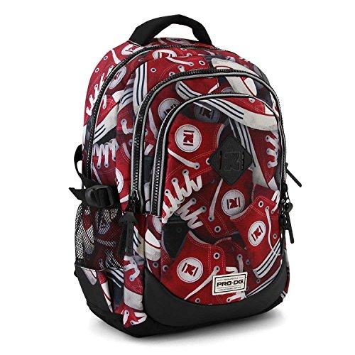 PRODG PRODG Running Backpack Tracks Schulrucksack, 44 cm, Mehrfarbig (Multicolored) Preisvergleich