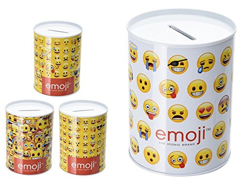 Hucha Metal Emoji 7x10cm Surtido A Elegir 1