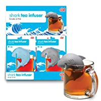 DCI Shark Tea Infuser, 12 count, Colors May Vary