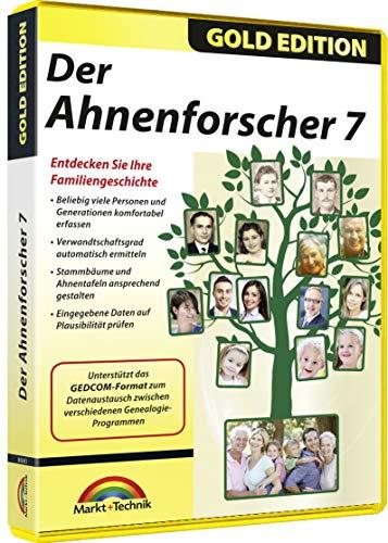 Ahnenforscher 7 - Stammbaum und Ahnenforschung - Ahnenchronik für Windows 10 / 8.1 / 7