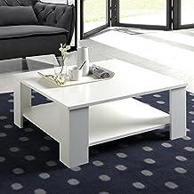 Mesa centro Milan 80 cm X 80 cm Blanco