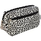 Animal Print Zebra Leopard Cosmetic Make up Bag Case toiletry wash bag