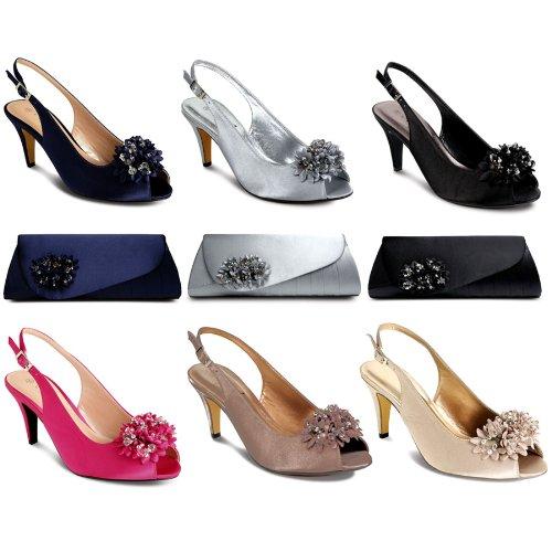 Sapphire Boutique by Sapphire, Scarpe col tacco donna Nero (Scarpe)