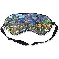 Colorful Artistic Paint Art Sleep Eyes Masks - Comfortable Sleeping Mask Eye Cover For Travelling Night Noon Nap... preisvergleich bei billige-tabletten.eu