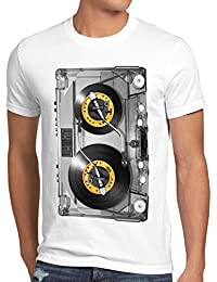 style3 Nonstop Play T-Shirt Homme photo impression turntable disque