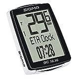 Sigma SIG 01616BC 16.16COMPUTER DA BICICLETTA RUOTA Bike contatore