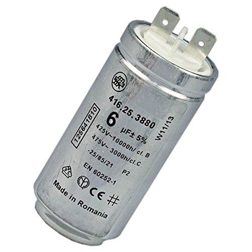Condensateur 6mF - Sèche-linge - ARTHUR MARTIN ELECTROLUX, ELECTROLUX, AEG, FAURE