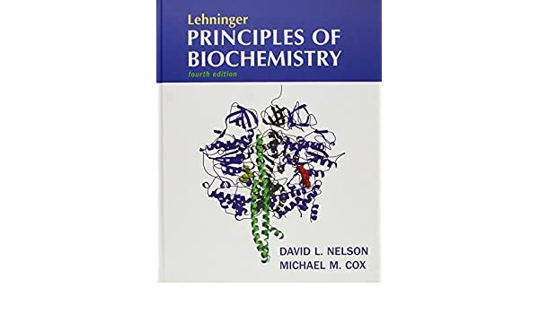 Buy Lehninger Principles Of Biochemistry Fourth Edition Lecture
