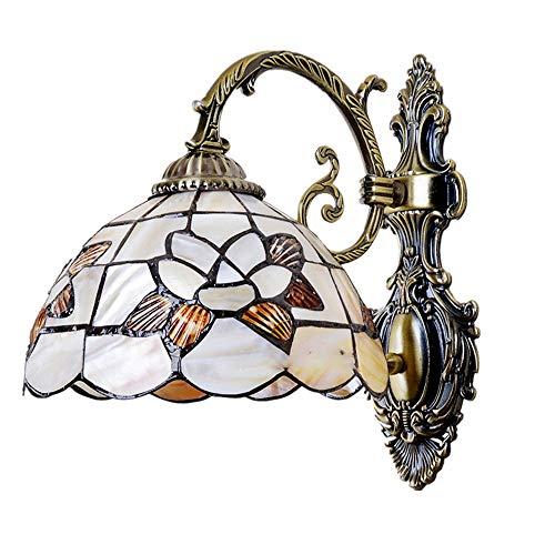 nische Wandleuchte LED Wandlampen Glasmalerei Korridor Licht Libelle Spiegel Frontleuchte E27Gallery Wandleuchten Durchgang Flur Industrielle Vintage ()
