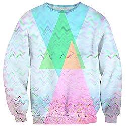 Trippy Wolf Sweater